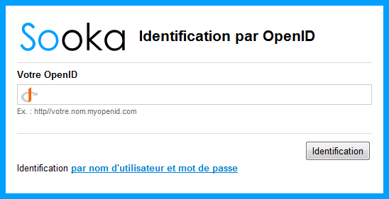 Identification par OpenID